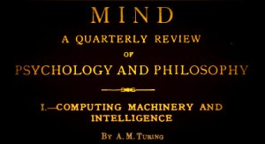 A paper by Turing