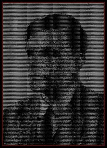 a portrait of alan turing